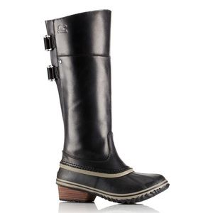Riding boots - tall leather, waterproof